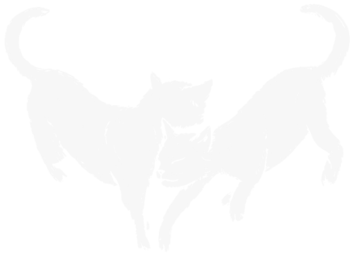 Decorative Icon: Two Cats