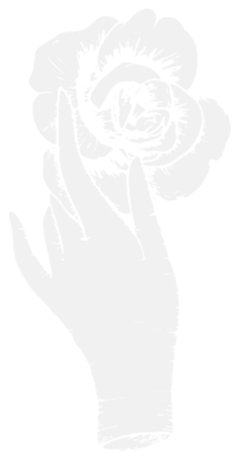 Decorative Icon: Rose in Hand